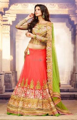 Indian-wedding-lehenga-blouse-designs-2017-for-bridal-2