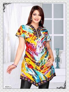 Latest-summer-cotton-kurti-styles-2017-for-women-designs-2