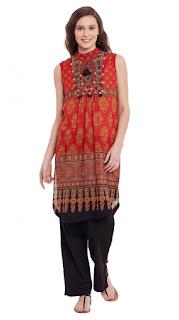 Latest-summer-cotton-kurti-styles-2017-for-women-designs-4