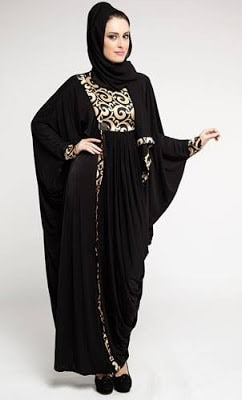 Latest Dubai Designer Abaya Gowns Designs Collection