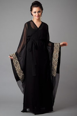 Latest and stylish abaya Designs 2018 for pakistani ladies