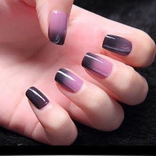 Soak Off Temperature Color Change Gel Nail Polish UV Led Nail Art
