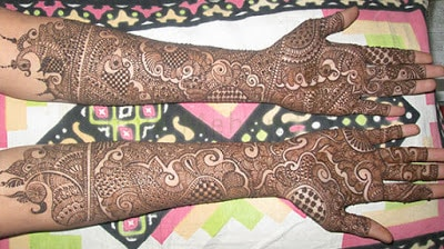 bridal arabic mehndi designs for full hands