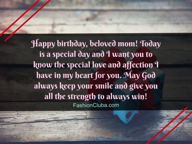 sweet birthday wishes for mother from daughter