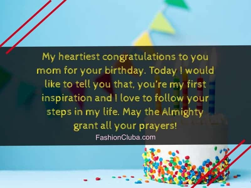 happy birthday wishes for mother from daughter