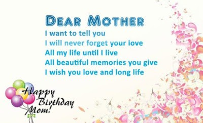 Cute Birthday Wishes For Mother From Daughter With Images And Quotes
