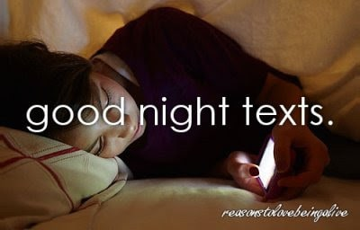 good night text messages for your girlfriend
