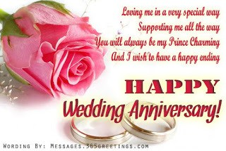 happy anniversary my husband wishes