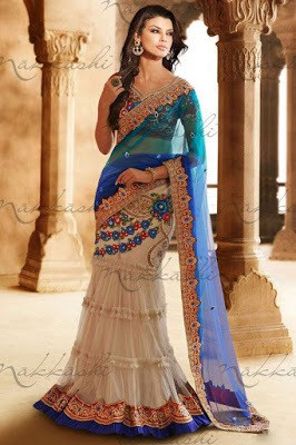 indian lehenga sarees designs for modern girls