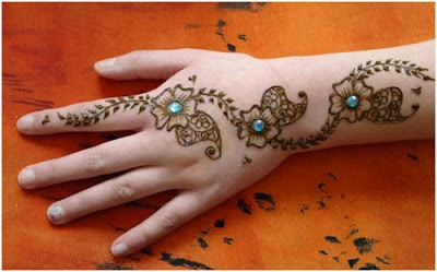 beautiful mehndi designs step by step