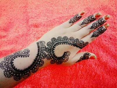 different types of eid mehndi patterns 2018