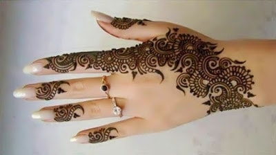 images of beautiful mehndi design 2018 for eid