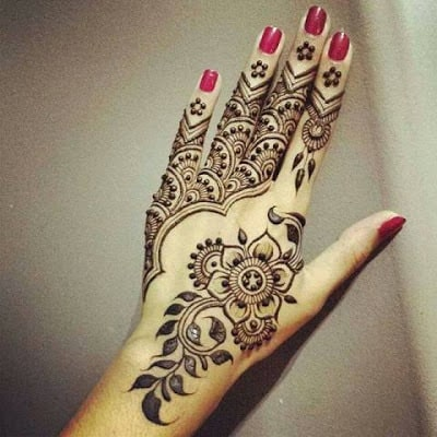 simple eid mehndi henna designs hands