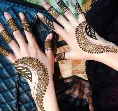 beautiful mehndi designs for eid 2018