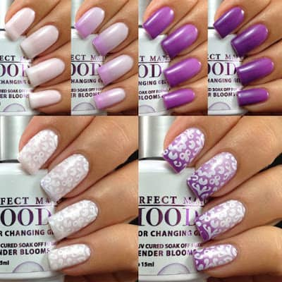 nail polish that changes colors with your mood