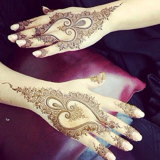 12 Easy Heart Shaped Mehndi Designs Images For Hands Fashion Cluba
