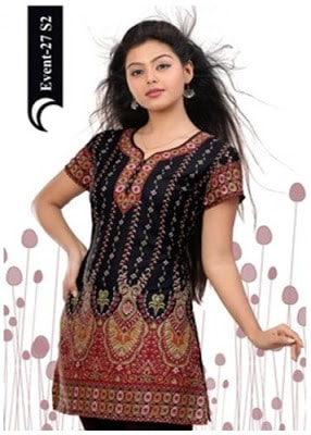 Latest-indian-summer-kurti-designs-with-lace-for-women-9