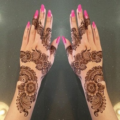 eid mehndi designs 2018 new style simple