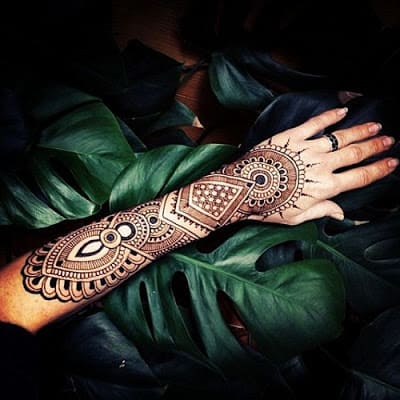 easy and simple mehndi designs for hands