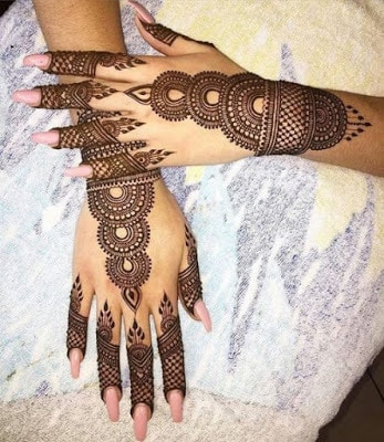 beautiful mehndi designs pictures for hands