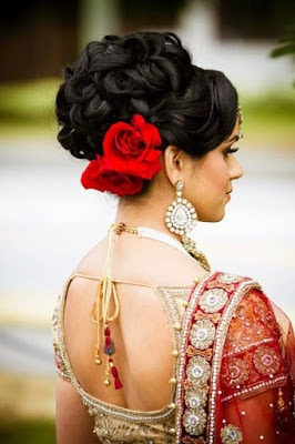 Stylish-indian-bridal-hairstyles-that-looks-perfect-for-wedding-9
