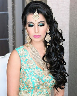 Stylish-indian-bridal-hairstyles-that-perfect-for-wedding-9