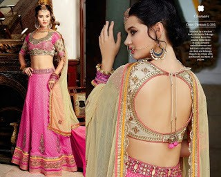 771f36d4a08c7 Top Blouse Designs Pattern for Lehenga Choli That Woman Must Have ...