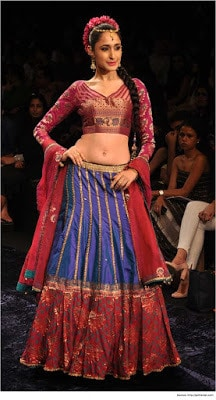 Top-blouse-designs-pattern-for-lehenga-choli-for-woman-10