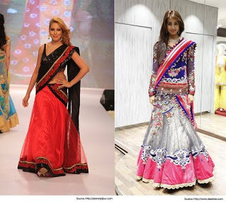 Traditional-indian-bridal-half-saree-designs-for-weddings-16