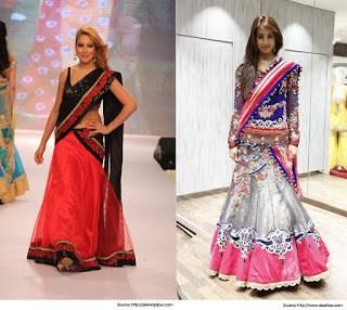Traditional-indian-bridal-half-saree-designs-for-weddings-16