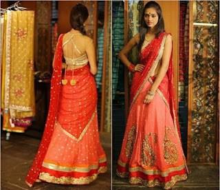 Traditional-indian-bridal-half-saree-designs-for-weddings-2