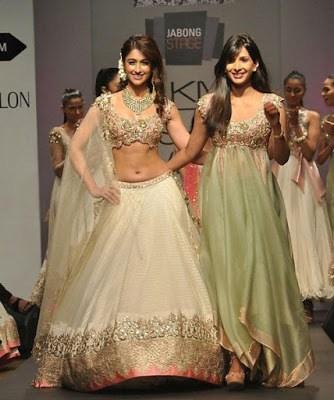 Traditional-indian-bridal-half-saree-designs-for-weddings-8