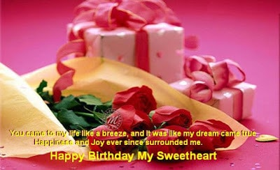birthday wishes to wife images