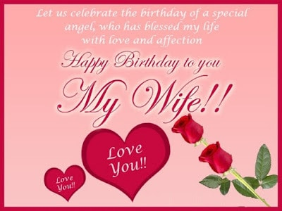 happy birthday to wife images