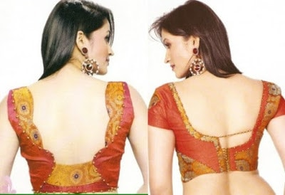 10 Stylish Blouse Back Neck Designs For Saree Catalogue Fashion Cluba