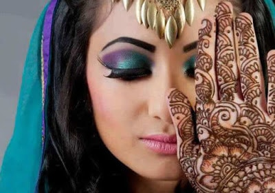 Arabic-bridal-makeup-&-hairstyles-tutorial-step-by-step-5