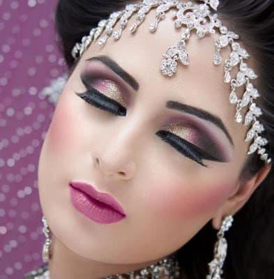 Arabic-bridal-makeup-&-hairstyles-tutorial-step-by-step-6