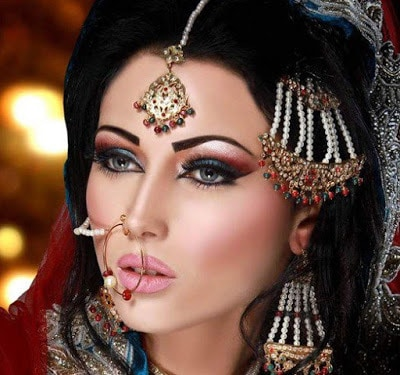 Arabic-bridal-makeup-&-hairstyles-tutorial-step-by-step-3
