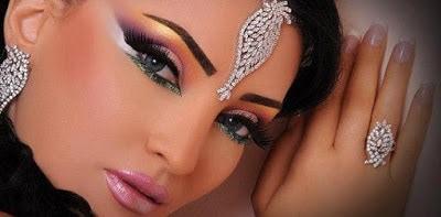 Arabic-bridal-makeup-&-hairstyles-tutorial-step-by-step-4