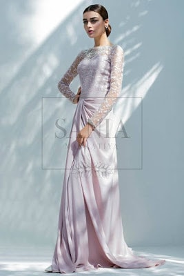 Indian-Net-Embroidered-Long-Dress