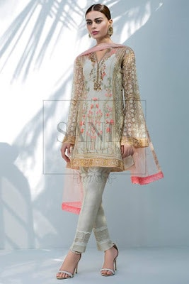 Indian-Net-Sequins-Embroidered-Shirt