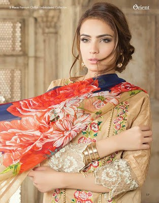 Orient-textile-summer-chiffon-embroidered-2017-collection-1