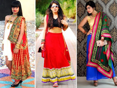 Traditional-ethnic-wear-indian-wedding- dresses-for-women-1