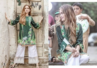 Azadi-digital-printed-cotton-and-silk-kurti-2017-for-girls-by-al-zohaib-2