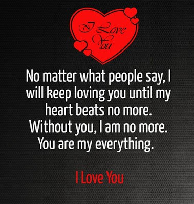 cute and sweet I love you quotes for him