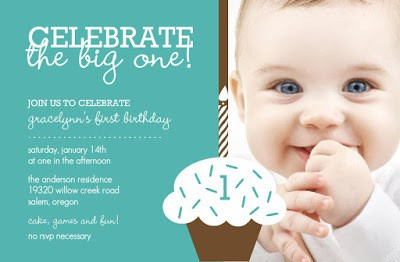 first birthday invitation card ideas for babies