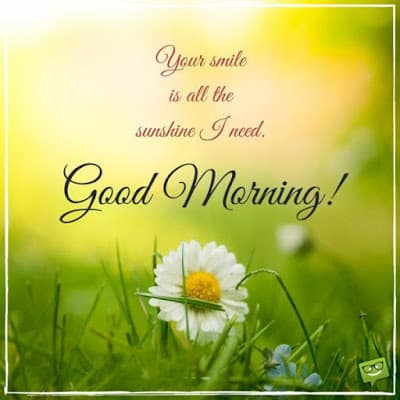 Cute Good Morning Wishes Quotes with Text Messages for Him