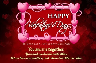 happy valentines day wishes quotes for my husband
