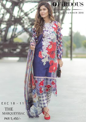 firdous spring-summer cloth collections