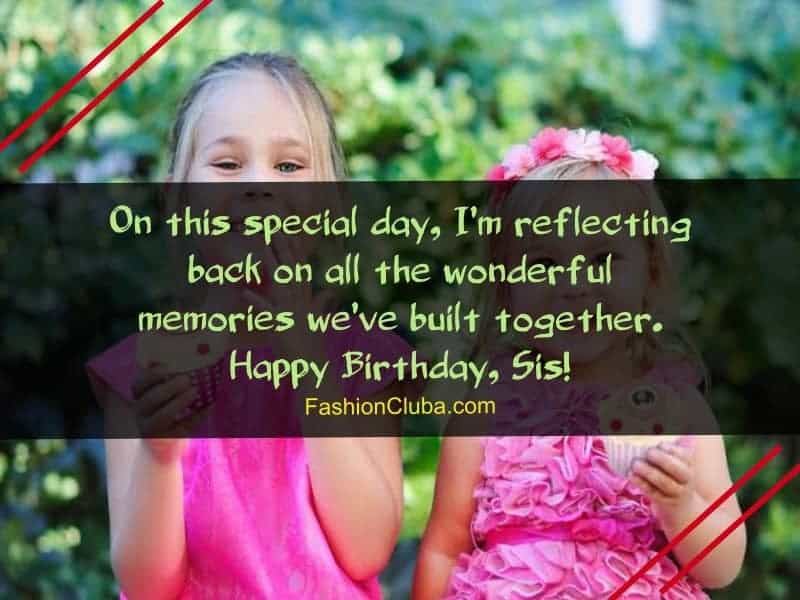 Surprising 200 Touchy Birthday Wishes Quotes For Sister Fashion Cluba Funny Birthday Cards Online Inifofree Goldxyz